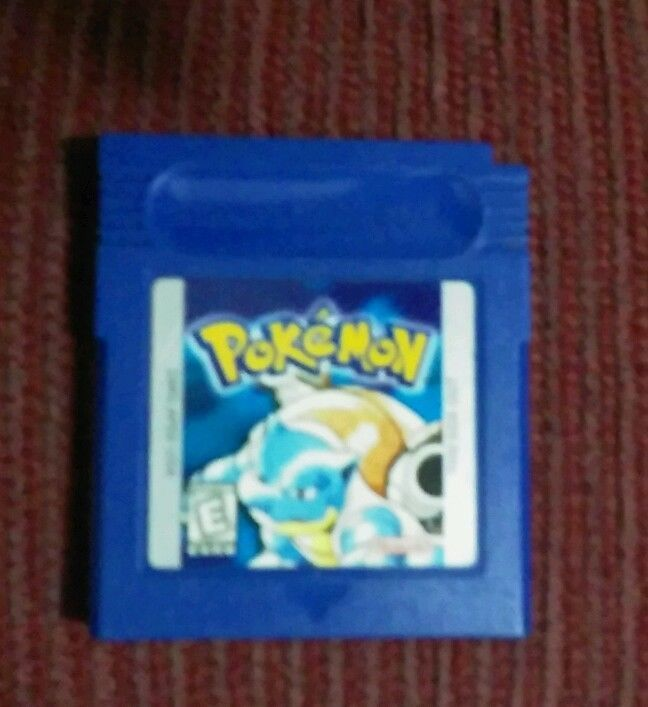 Pokemon Blue Version for Game Boy Game in Video Games & Consoles, Video Games | eBay