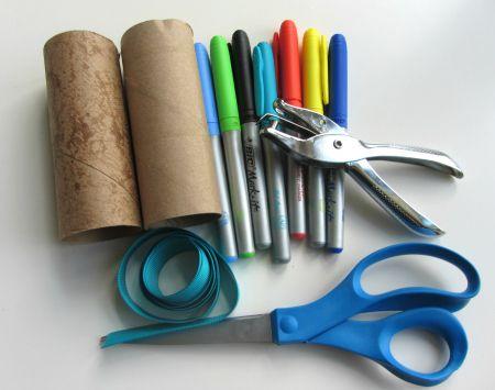 ninja supplies to make Nunchucks! The boys will love this!!! :)