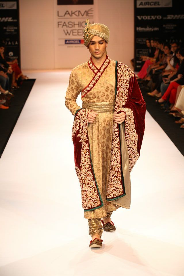 Shyamal & Bhumika - Lakme Fashion Week 2012