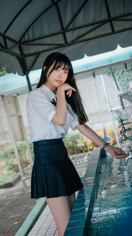 Shaking, support. teen asian girl uniform pics commit