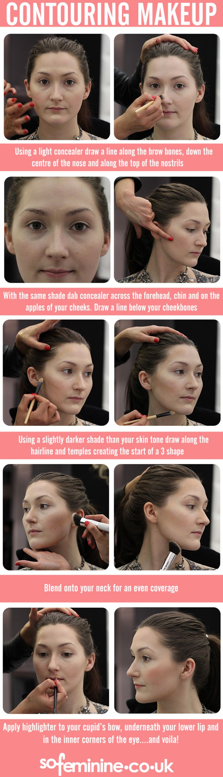 Make Like Kim Kardashian And Contour Your Cheeks The Easy Way With This  Simple How