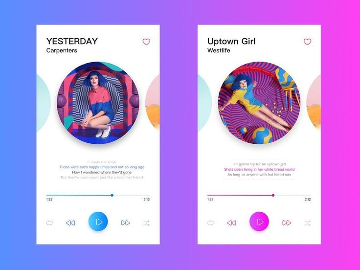 What color do you like better for this music player by Helo (dribbble.com/helo)? . . . . Tag @ui.inspirations in your UI designs or use #uiinspirations if you want us to feature your work! . . . . #userinterface #graphicdesign #webdesign #designinspiration #digitaldesign #ui #ux #uidesign #appdesign #dailyinspiration #graphicdesignui #uitrends #interface #design #uiux #webdesigner #designlove #dailyui #productdesign #creative #mobileui #uxdesigner #uidesigner #dribbble #tech #uxdesign
