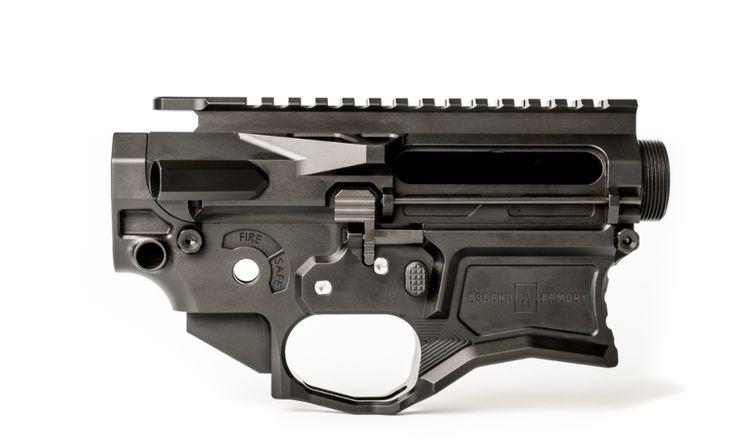 Ascend Armory AR-15 Matched Billet Receiver Set