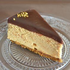 tarta mousse dulce de leche