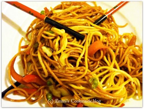 RICETTA IN ITALIANO – Vermicelli cinesi con verdure, unacenafacile e svelta RECIPE IN ENGLISH – Mie noodles stir fry with vegetables, an easy and quick dinner  Dieses einfache und sc…