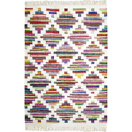 Handgefertigter Teppich 'Terry'