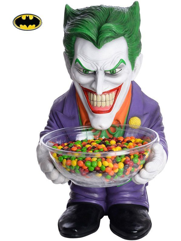 check out joker candy holder wholesale halloween accessories for kids adults from wholesale halloween - Joker Halloween Costume Kids
