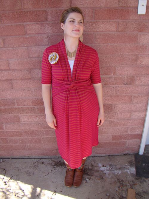 Turn About the Room Nursing Dress