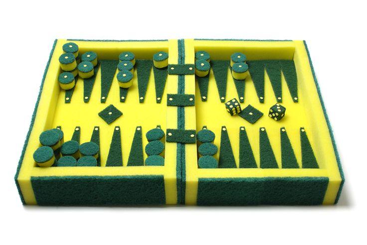 Things: Sponge Backgammon   Junkculture