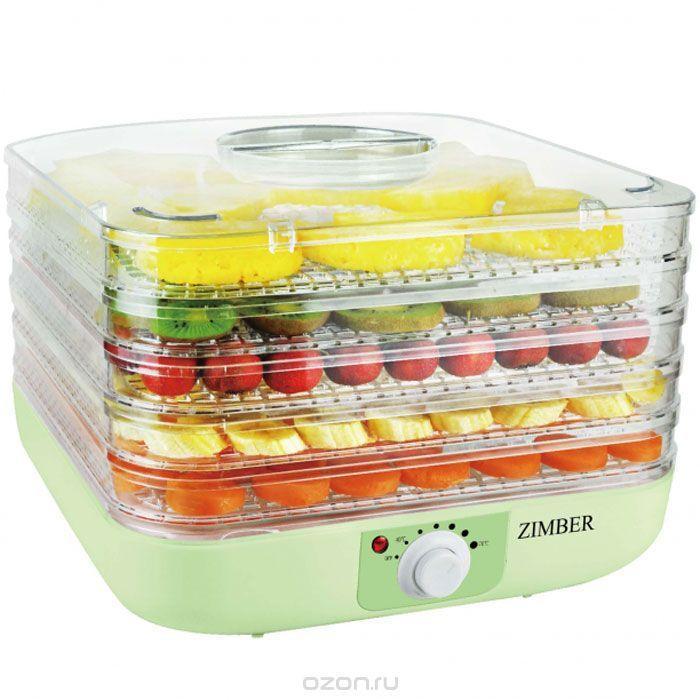 2800р Zimber ZM-11024 дегидратор - купить в интернет-магазине по лучшей цене. Сушилка для овощей с быстрой доставкой от OZON.ru - Выбирайте!