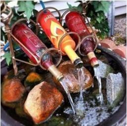 1000 images about fuentes de agua on pinterest posts for Como hacer una fuente de agua para jardin