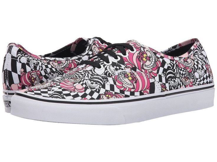 VANS Disney Cheshire Cat Low Top Canvas Sneakers Shoes Mens Size 12 VN0003Z3HSS #VANS #Skateboarding #disney #cheshirecat
