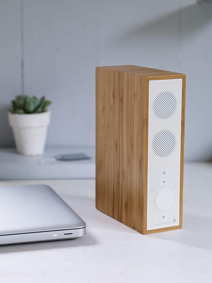 wood bluetooth speaker