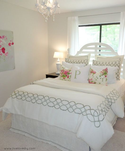 667 best images about colors gray to black on pinterest - Small guest bedroom decorating ideas ...