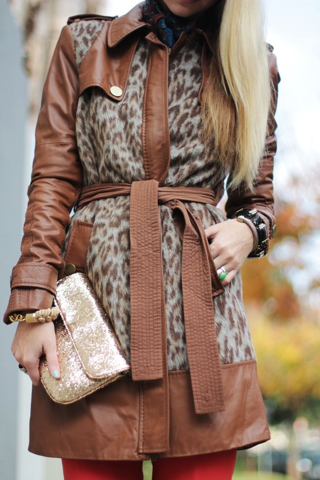 leather & leopard