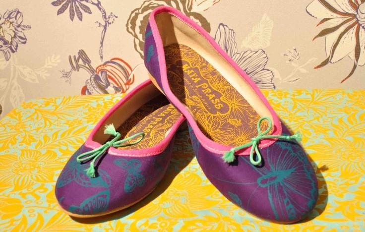 Patty 010 Purple Butterflies