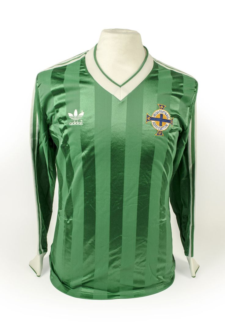 Football com category football kits image sl benfica 1st kit - Mal Donaghy Northern Ireland Shirt 1983 The Neville Evans Collection The Nfm