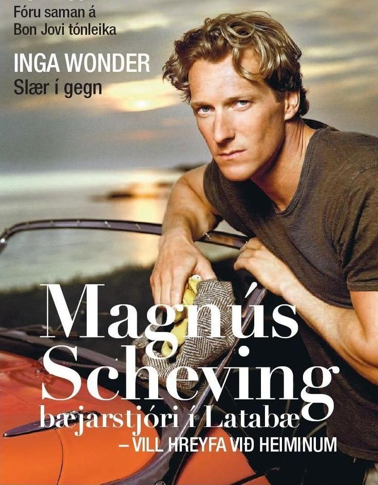 Magnus Scheving magazine cover