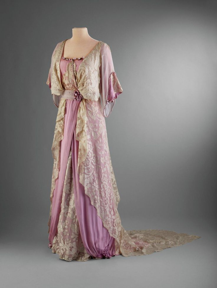 Afternoon Dress 1910 14 From The Hillwood Museum Fashion Pinterest