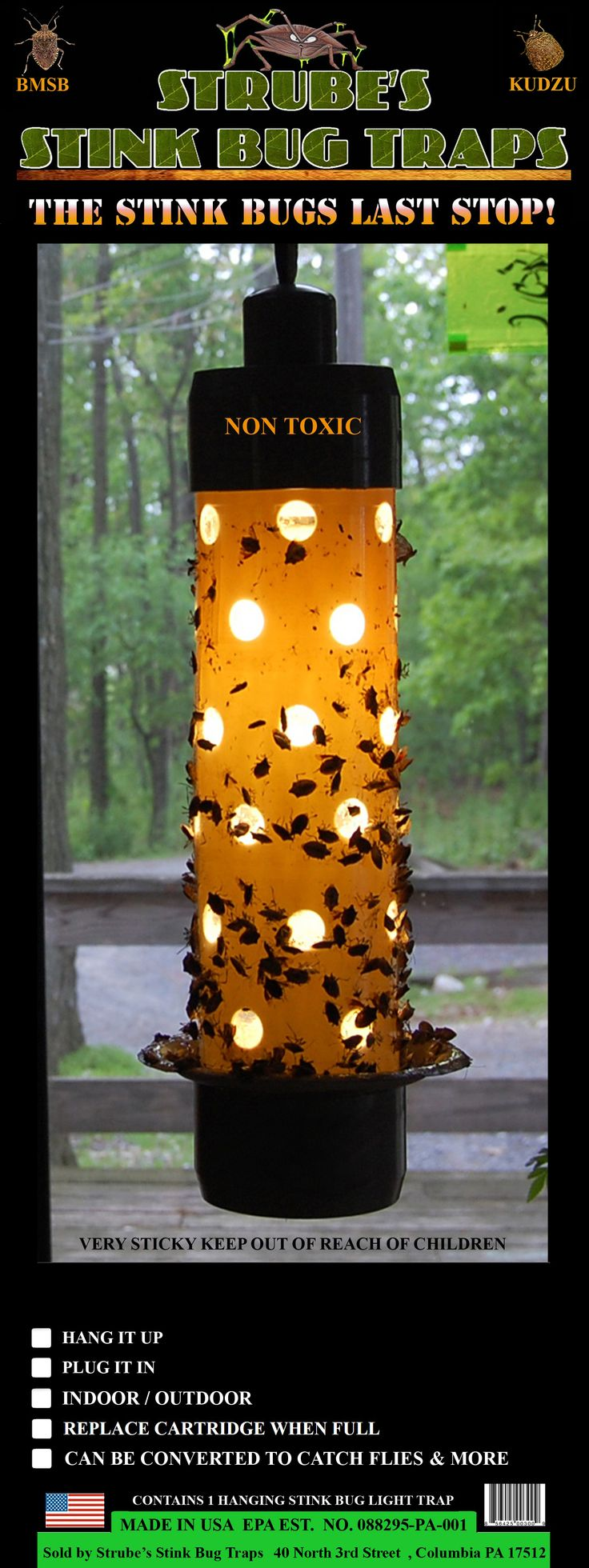 It was 3 years ago today that I began developing stink bug traps after our house was inundated with tens of thousands of them. Shortly after I  launched stinkbugtrapsonline.com to sell the 1st indoor stink bug light trap in the world available to the public. Stop by and read our story, thanks :-)  #tbt #throwbackthursday
