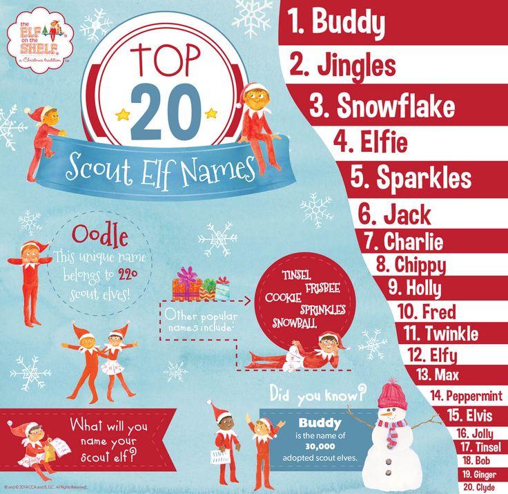 The 25 Best Elf Names Ideas On Pinterest Christmas Elf