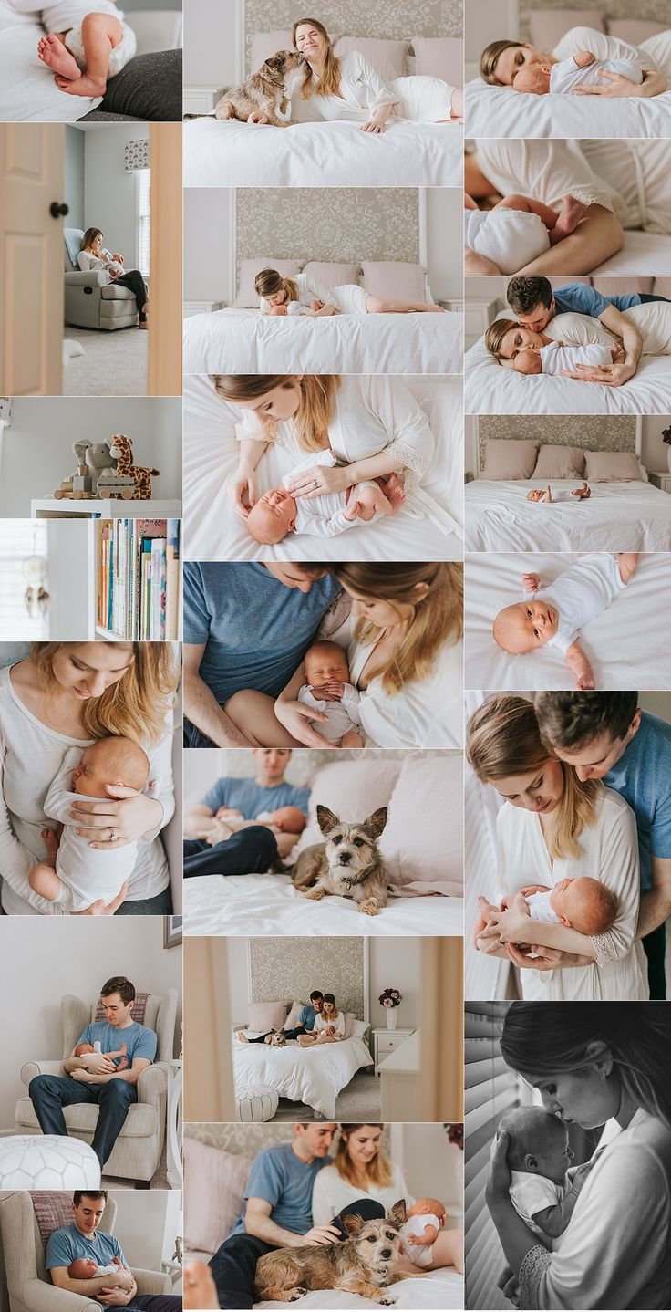 Brookhaven lifestyle newborn photographer - light and airy lifestyle newborn session - in-home newborn - newborn photography - newborn sessions with dogs - katya vilchyk