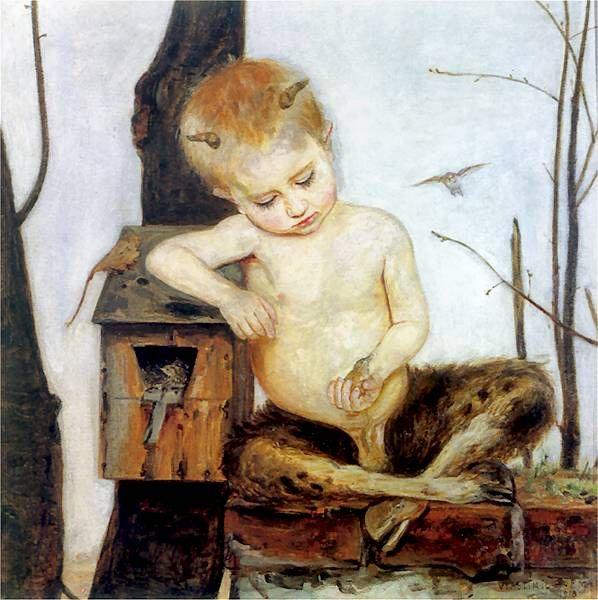 Vlastimil Hofman - Wiosna, 1918