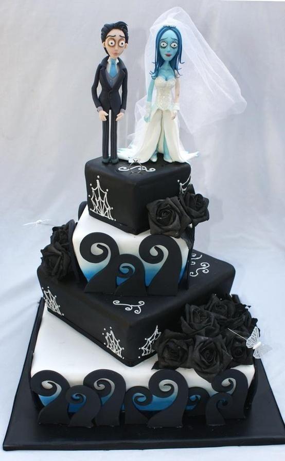 Le Cake Artist : 17 meilleures images a propos de Tim Burton Cakes sur ...