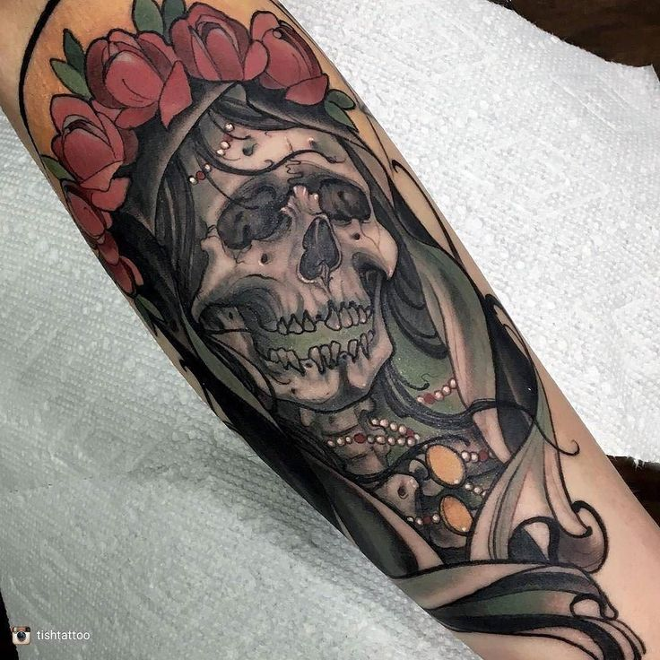 392 Best Skulls And Skelletons Tattoos Ideas Images On