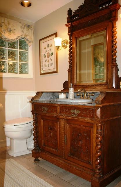 Retro Bathroom Makeovers 24 best antique bathroom vanities images on pinterest | antique