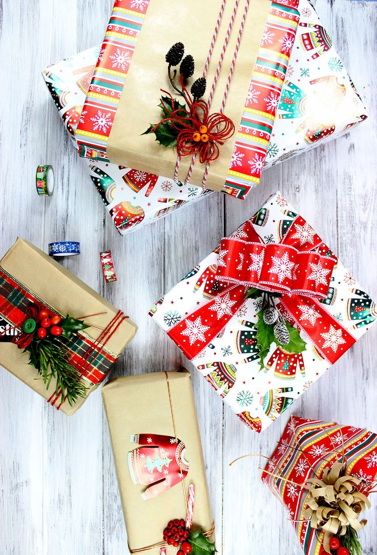 Best 25+ Christmas present wrap ideas on Pinterest