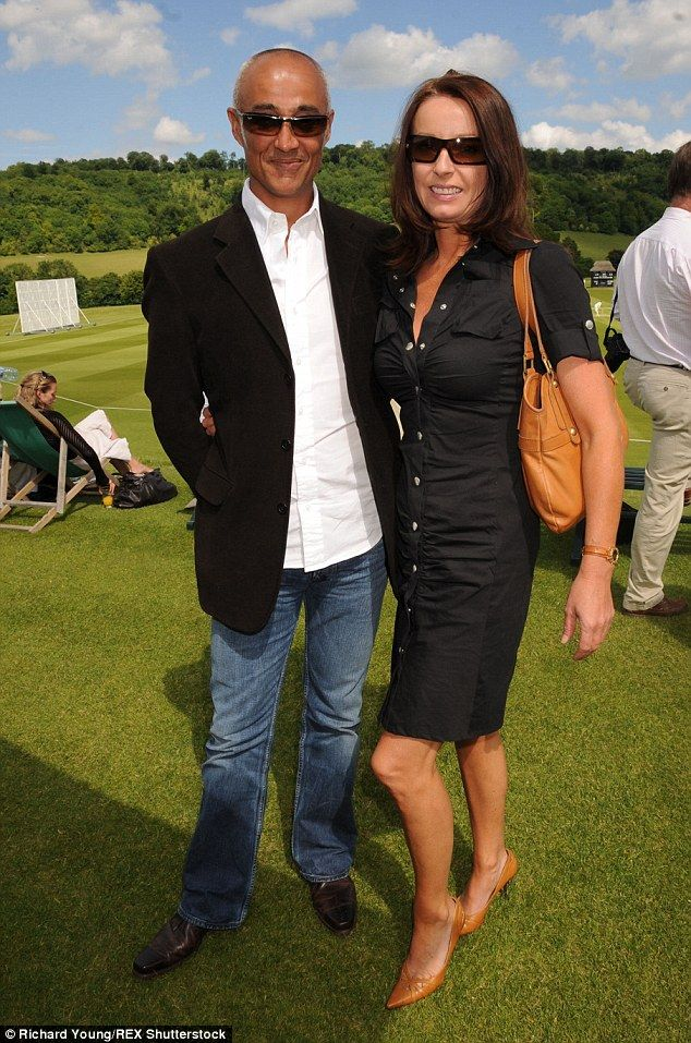 Still going strong: Andrew, 52, confessed to the Sunday Mirror: 'We split up but we are th...