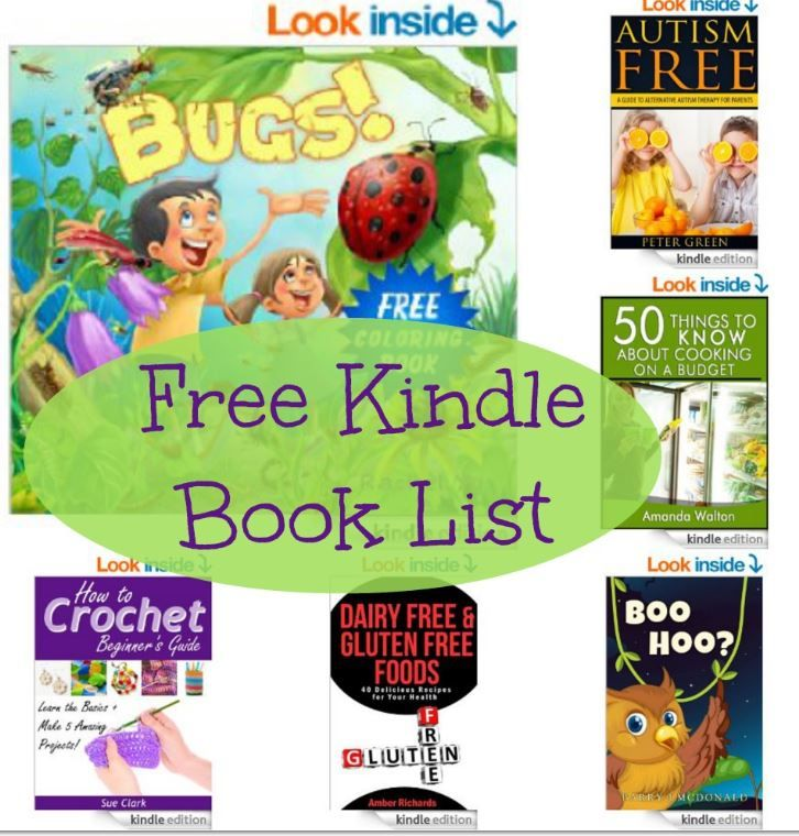 14 Kindle Freebies: Zoo Big Book, Autism Free (Alternative Therapy), How to Crochet Beginner's Guide, + More!