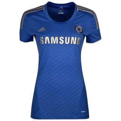 Pretty.... Women's Chelsea FC jersey :)