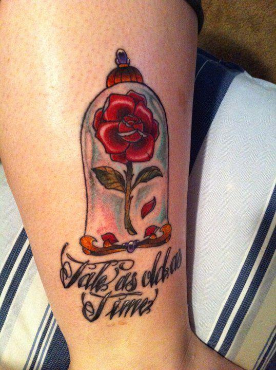 My Beauty and the Beast tattoo