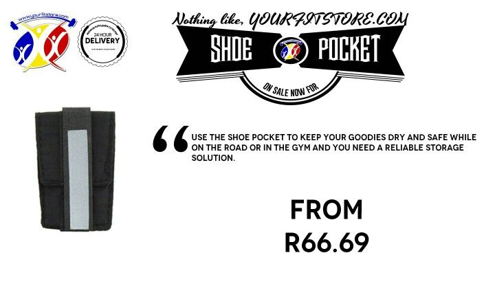 ***RECENTLY ADDED*** Check out the latest addition to yourfitstore.com .The SHOE POCKET is a conveient storage space for you while training or working out. Click on the link below for more information *24/7 shopping hours *Delivery direct to your location *New products loaded daily * yourfitstore.com   #running #cycling #fitness #gear #accessories #holster #cardio #outdoor #summerbody