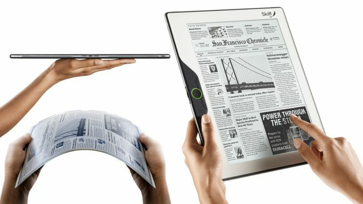 Skiff shows 11.5 inch 1200 x 1600 touchscreen electronic-paper reader