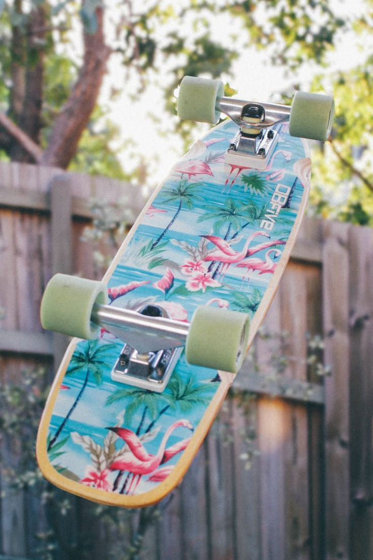 Green and Yellow Skateboard