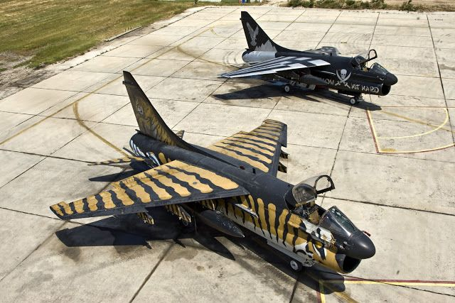 A-7E CORSAIR HAF: ΚΟΥΡΣΑΡΟΙ ΤΟΥ ΑΙΓΑΙΟΥ ΑΦΙΕΡΩΜΑ