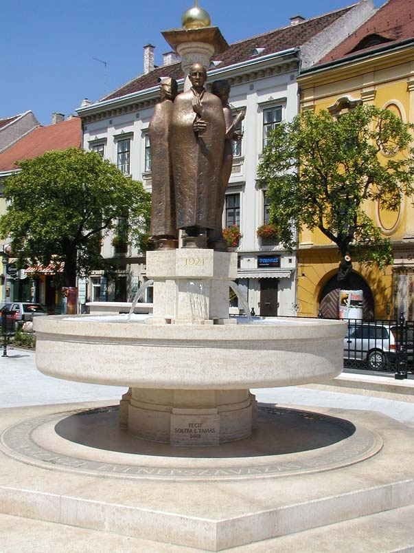 Sopron, Loyalty Fountain