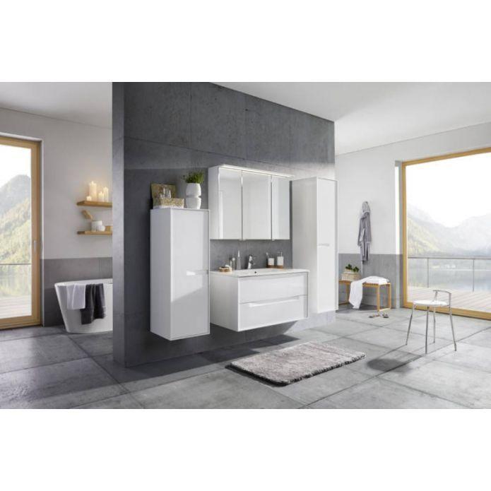 Praktischer Badezimmerschrank Im Minimalistischen Stil Badezimmer Baden Unterschrank