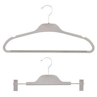 Grey Non-Slip Hangers