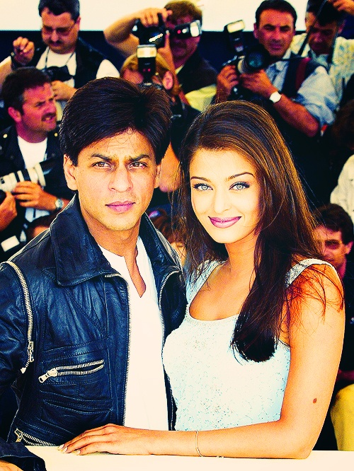 It doesn't get much bigger than this. #SRK #Shahrukh #Aishwarya #Bollywood