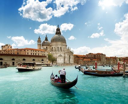 Get swept away by the beauty of Europe's most romantic cities-- Paris, Venice & Vienna