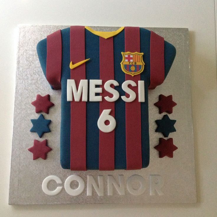 Barcelona Football Shirt. I know someone who would love this!