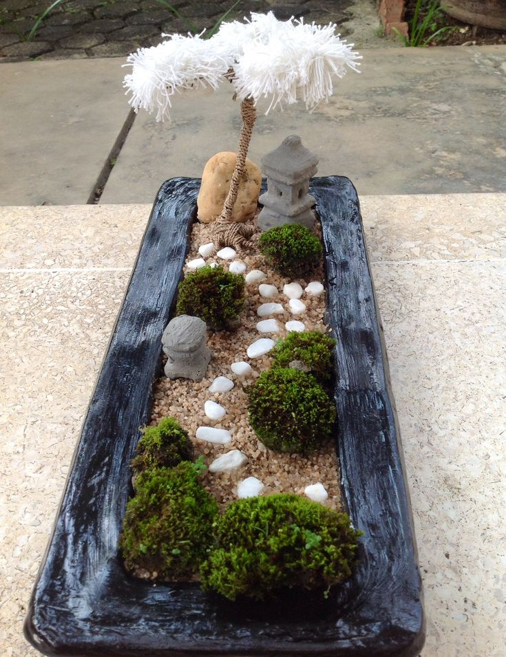 99 best mini zen garden images on pinterest mini zen garden zen gardens and miniature zen garden. Black Bedroom Furniture Sets. Home Design Ideas