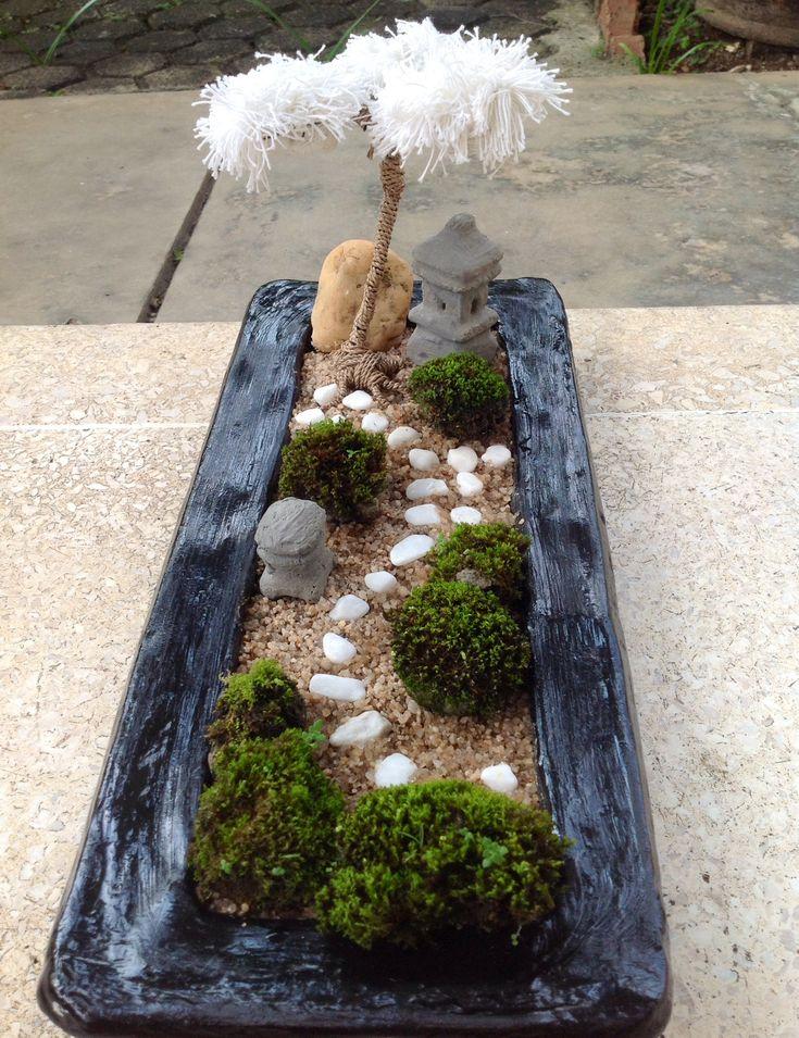 99 best images about mini zen garden on pinterest. Black Bedroom Furniture Sets. Home Design Ideas
