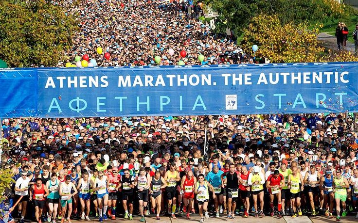 Runners Take Your Mark… Countdown to 34th Athens Marathon