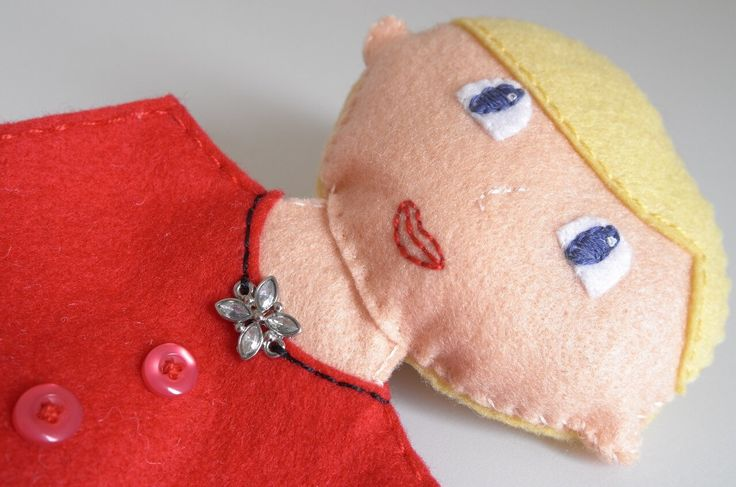 A personal favourite from my Etsy shop https://www.etsy.com/listing/268128794/mother-doll-for-children-and-flower