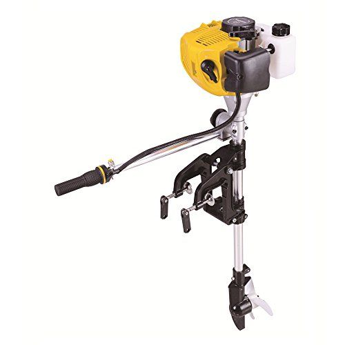 Sky 2-stroke 2.5HP Superior Engine Outboard Motor Inflatable Fishing Boat (2-stroke 2.5HP)